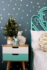 Adorable and fun christmas kids room design ideas 02