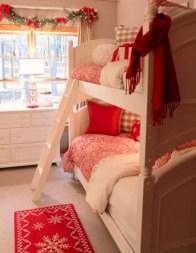 Adorable and fun christmas kids room design ideas 27