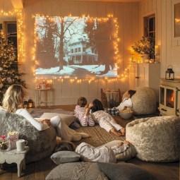 Adorable and fun christmas kids room design ideas 42
