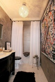 Affordable shower curtains ideas for small apartments 14