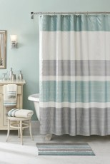Affordable shower curtains ideas for small apartments 32