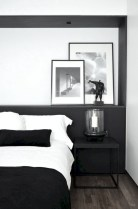 Amazing black and white bedroom ideas (28)