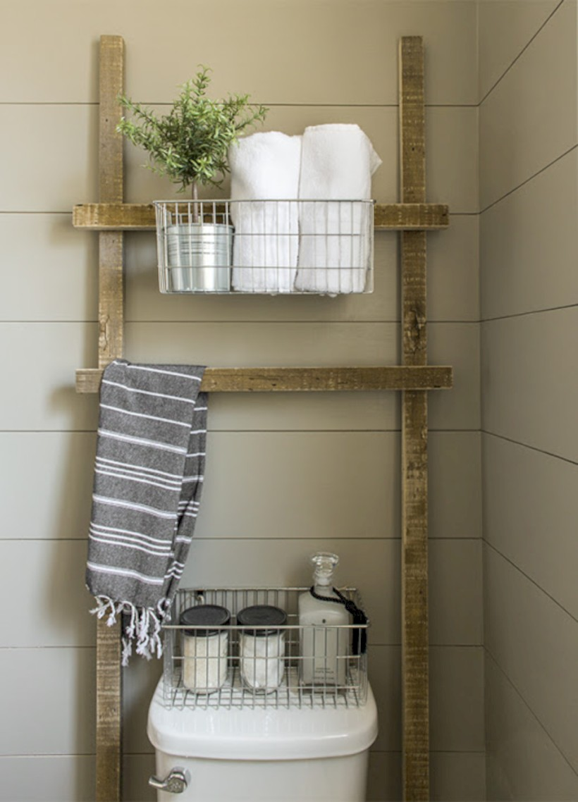 Awesome diy organization bathroom ideas you should try (1)