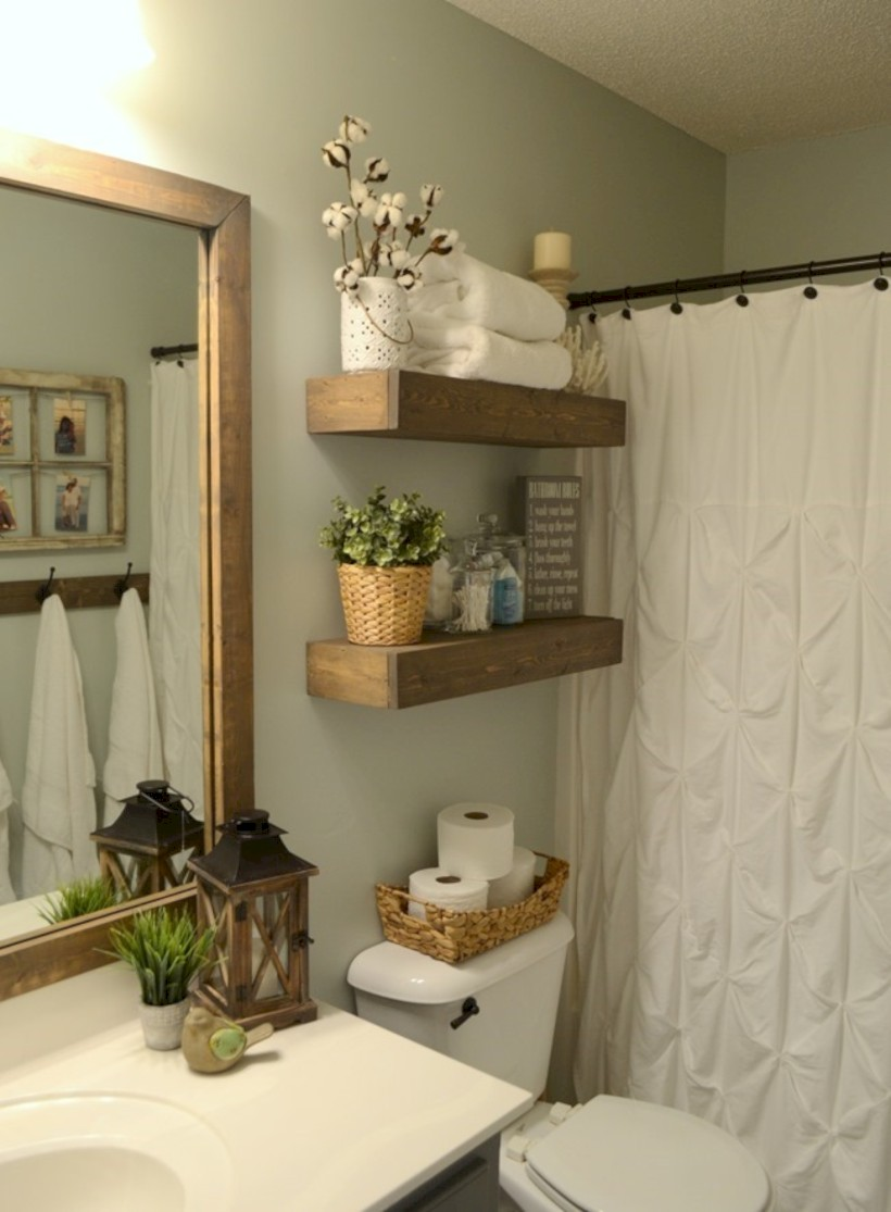 Awesome diy organization bathroom ideas you should try (15)