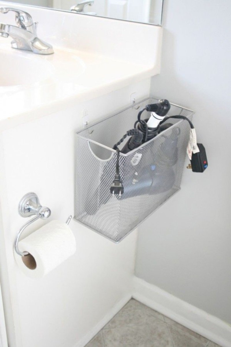 Awesome diy organization bathroom ideas you should try (18)