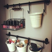 Awesome diy organization bathroom ideas you should try (21)