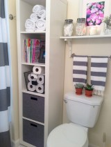 Awesome diy organization bathroom ideas you should try (28)