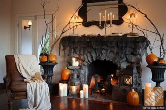 Awesome halloween indoor decoration ideas 12 12