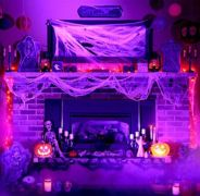 Awesome halloween indoor decoration ideas 2 2