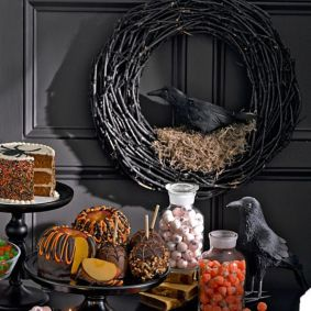 Awesome halloween indoor decoration ideas 21 21