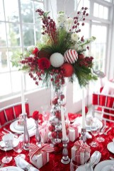 Beautiful christmas decoration ideas in red domination 02