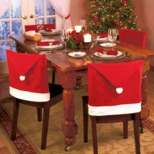 Beautiful christmas decoration ideas in red domination 47