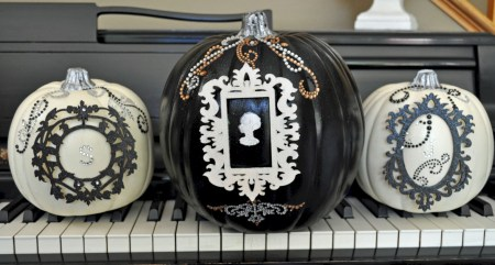 Beautiful ideas for elegant black and white halloween 22