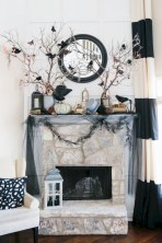 Beautiful ideas for elegant black and white halloween 51