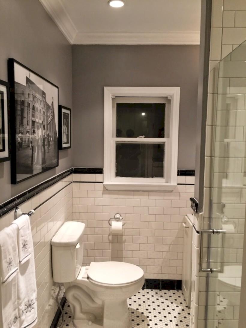 Beautiful subway tile bathroom remodel and renovation (11)