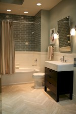 Beautiful subway tile bathroom remodel and renovation (16)