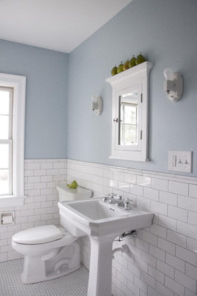 Beautiful subway tile bathroom remodel and renovation (23)