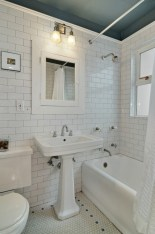 Beautiful subway tile bathroom remodel and renovation (24)