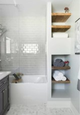 Beautiful subway tile bathroom remodel and renovation (30)