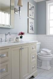 Beautiful subway tile bathroom remodel and renovation (32)