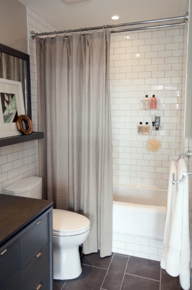 Beautiful subway tile bathroom remodel and renovation (40)
