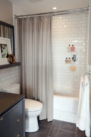 Beautiful subway tile bathroom remodel and renovation (40)