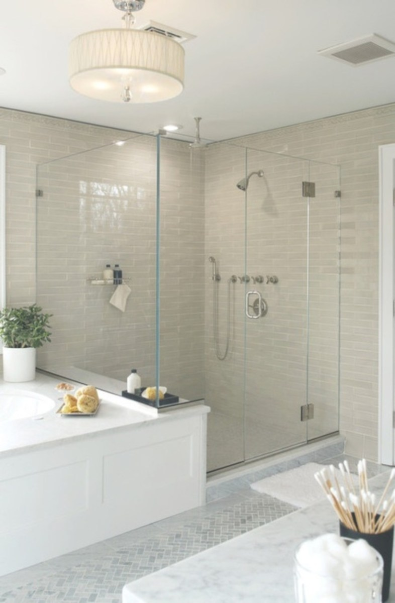 Beautiful subway tile bathroom remodel and renovation (45)