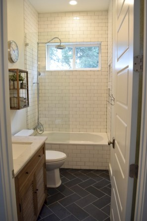 Beautiful subway tile bathroom remodel and renovation (54)