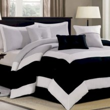 Black and white bedding sets ideas 04