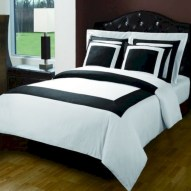 Black and white bedding sets ideas 05