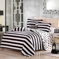 Black and white bedding sets ideas 20