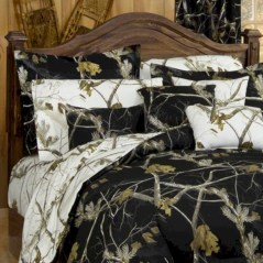 Black and white bedding sets ideas 21