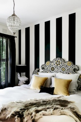 Black and white bedding sets ideas 24