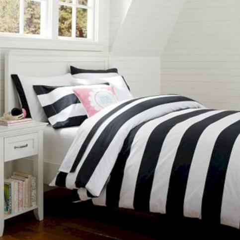 Black and white bedding sets ideas 29