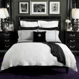 Black and white bedding sets ideas 37