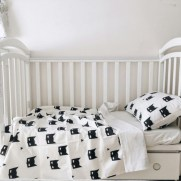 Black and white bedding sets ideas 38