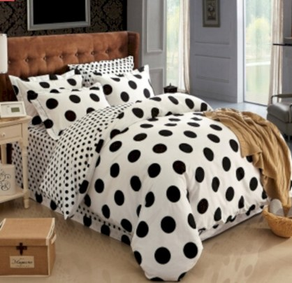 Black and white bedding sets ideas 48