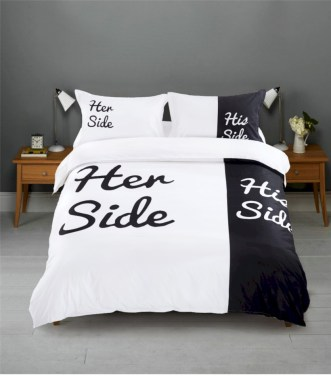 Black and white bedding sets ideas 57