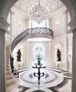 Classy living room floor tiles design ideas 26