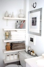 Cool organizing storage bathroom ideas (14)