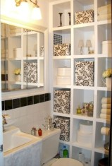 Cool organizing storage bathroom ideas (4)