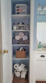 Cool organizing storage bathroom ideas (48)