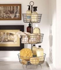 Cool organizing storage bathroom ideas (8)