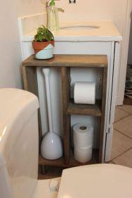 Creative diy bathroom ideas on a budget (21)