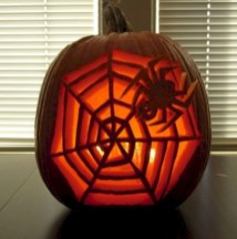 Creative diy halloween decorations using spider web 18