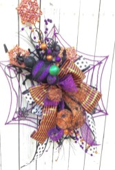 Creative diy halloween decorations using spider web 35