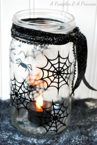 Creative diy halloween decorations using spider web 42