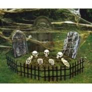 Creative diy halloween outdoor decoration ideas 35