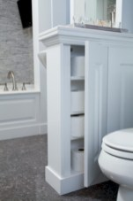 Creative storage bathroom ideas for space saving (16)