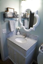 Creative storage bathroom ideas for space saving (29)